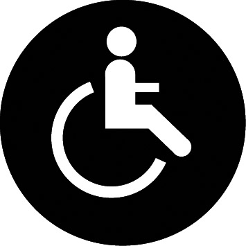 Accessible to wheelchair users or Persons with Reduced Mobility (PRM)